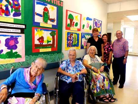 Art Exhibit by Liholiho Elementary School