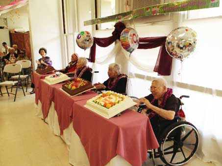 Four Centenarians